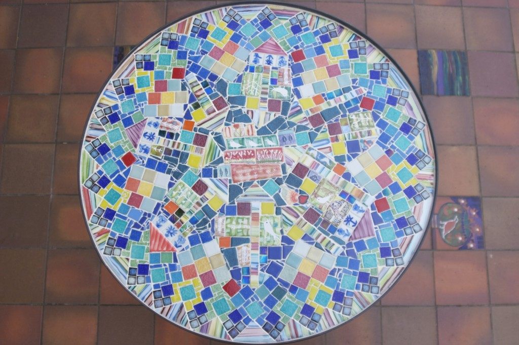 Mosaic Table (from above)