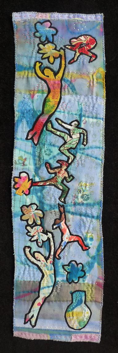 Ballet in Blue - 51 x 14