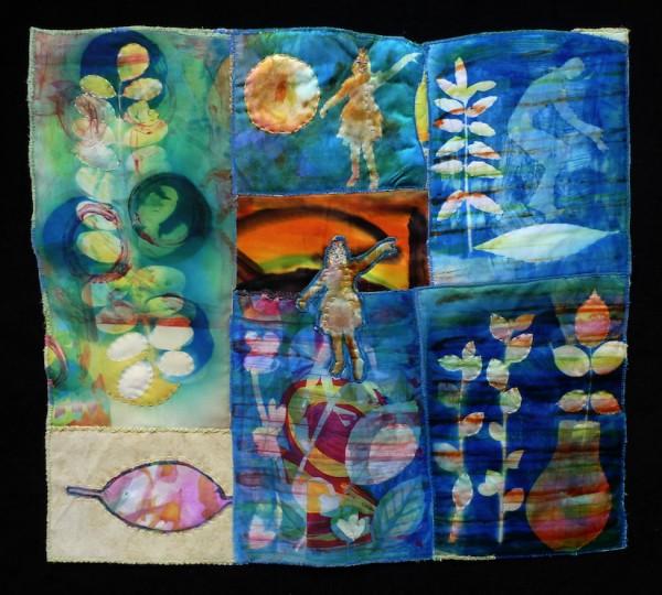 Blue Nature - 39 x 43